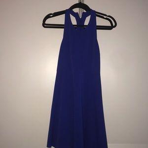 Blue skater dress from Nordstrom
